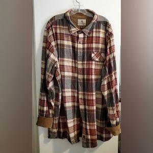 Legendary Whitetails 2XT Buck Camp Flannel Shirt